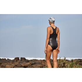 Zone3 Neoprene Swim Costume Women, black/silver